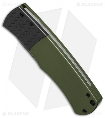 "Protech Magic ""Whiskers"" Automatic Knife Green (3.125"" Black) BR-1.7"