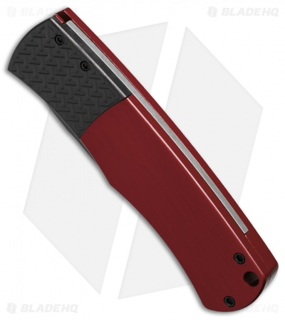 "Protech Magic ""Whiskers"" Automatic Knife Red (3.125"" Black) BR-1.7"