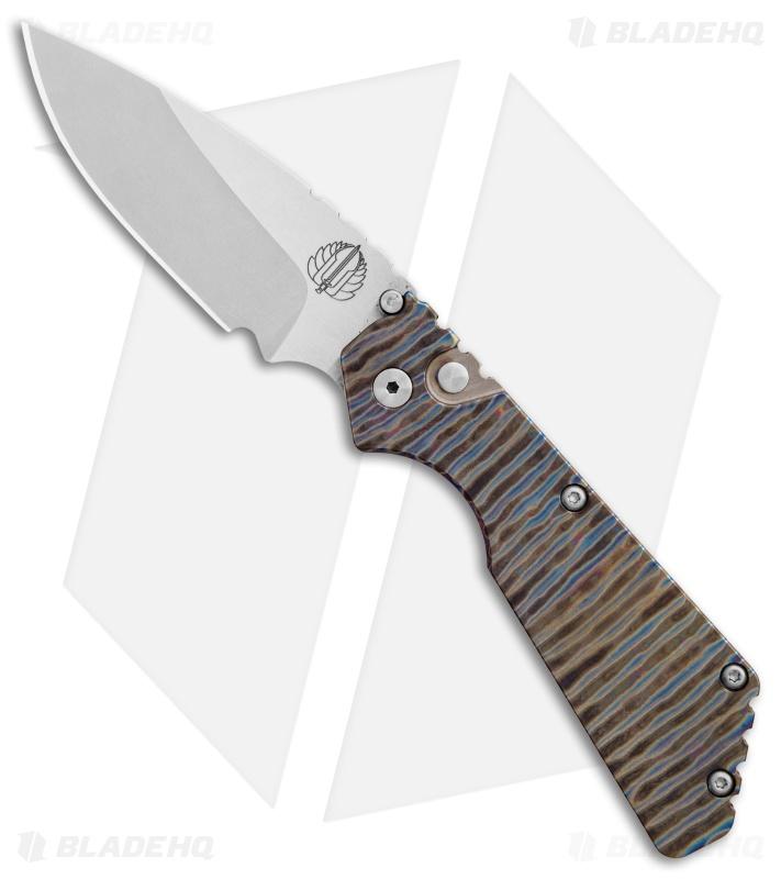 Strider Protech Custom Pt Automatic Knife Tiger Stripe