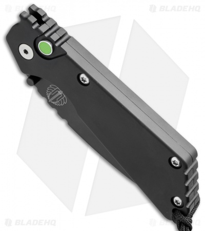 "Strider + Protech SnG Automatic Knife Aluminum (3.5"" Black)"