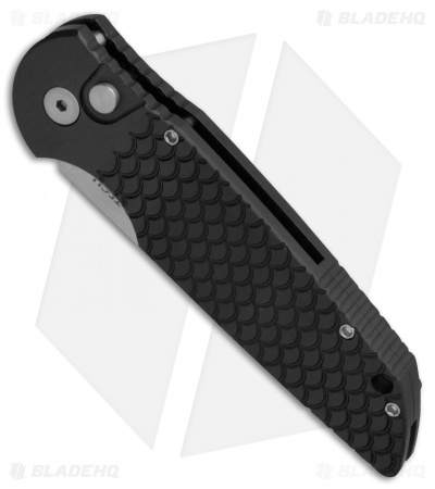 "Protech Tactical Response TR-3 X1 Automatic Knife Fish Scale (3.5"" SW SERR.)"
