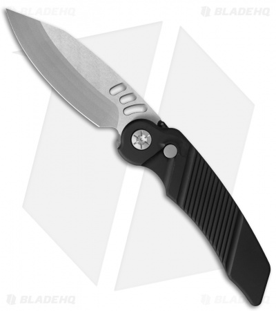 "Rat Worx MRX Full-Size Automatic Knife Black (3.6"" Satin) 02016"