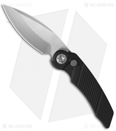 "Rat Worx MRX Mini Chain Drive Automatic Knife Black (3"" Satin) RW-MRX-12016"