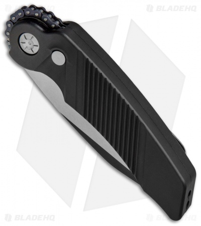 "Rat Worx MRX Full-Size Automatic Knife Black (3.6"" Two-Tone) 02013"