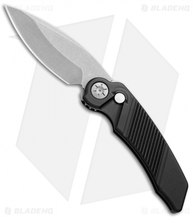 "Rat Worx MRX Mini Automatic Knife Black (3"" Stonewash) 12010"