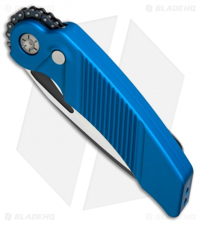 "Rat Worx MRX Chain Drive Automatic Knife Blue (4"" Two-Tone) RW-MRX-06313"