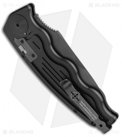 "SOG-TAC Automatic Knife Drop Point (3.5"" Black) ST-06"