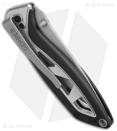 "Gerber Outrigger Spring Assisted Opening Knife (3"" Satin Plain)"