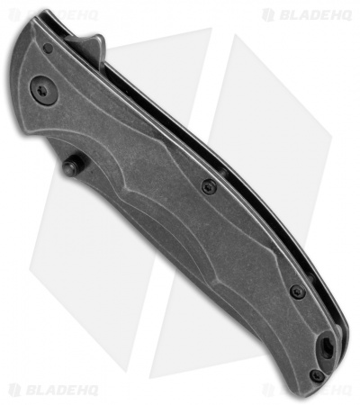 "Kershaw Axle Assisted Opening Flipper Knife (3.5"" BlackWash) 1331BWX"