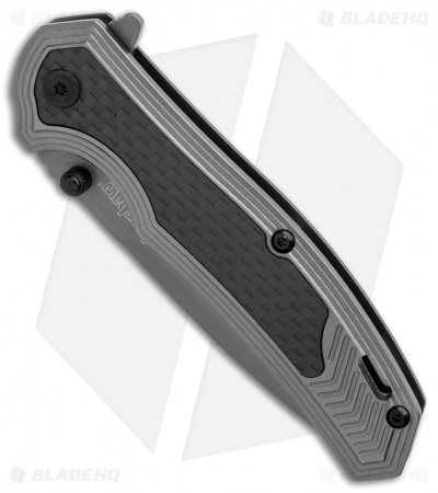"Kershaw Fringe A/O Frame Lock Knife Gray SS/Carbon Fiber (3"" Gray) 8310"