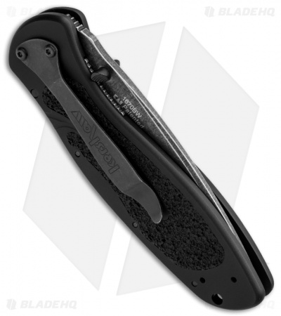 "Kershaw Blur Assisted Opening Knife Black (3.375"" BlackWash) 1670BW"