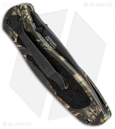 "Kershaw Blur Assisted Opening Knife Camo (3.375"" Black) 1670CAMO"
