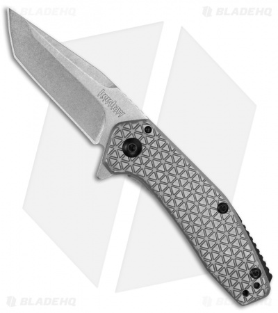 "Kershaw Cathode Assisted Opening Flipper Knife (2.25"" Stonewash) 1324"