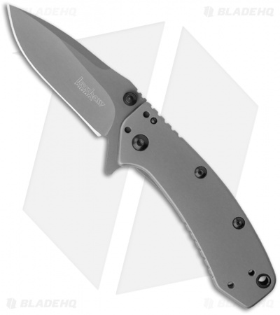 "Kershaw Cryo Assisted Opening Knife (2.75"" Gray) 1555TI"