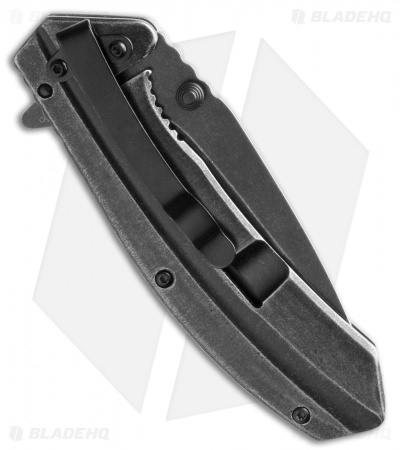 "Kershaw Filter Frame Lock Knife Stainless Steel (3.25"" BlackWash) 1306BW"