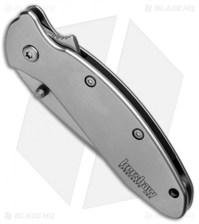 "Kershaw Scallion Assisted Opening Knife (2.25"" Bead Blast Serr) 1620FLST"