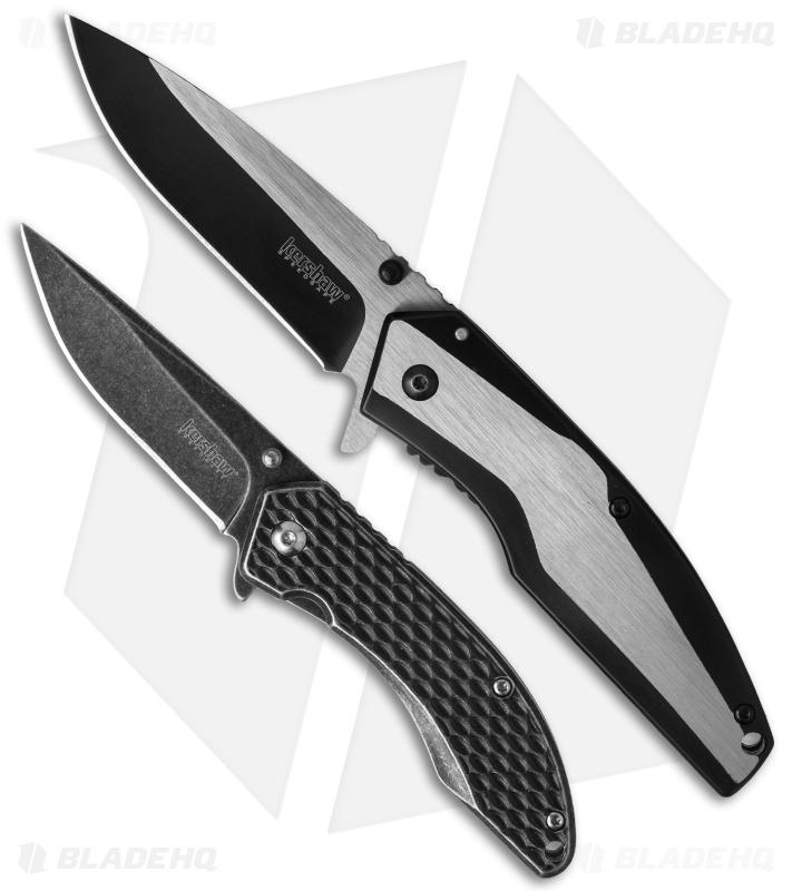 Kershaw Starter Set Assisted Opening Frame Lock Knives (Set of 2) 1316KITX
