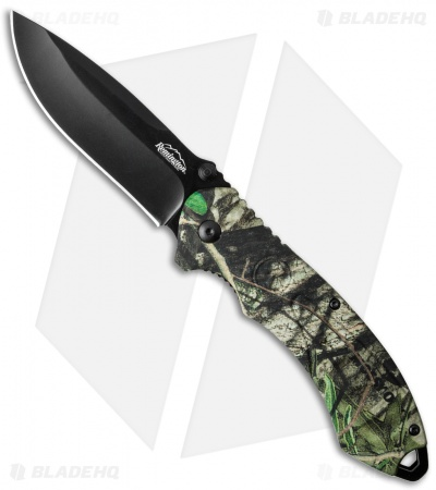 "Remington Sportsman FAST 2.0 Spring Assisted Knife Camo (3.5"" Black) R11618"