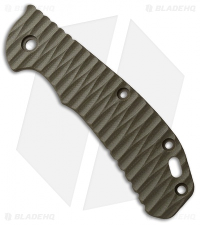 Zero Tolerance 0566 Custom G-10 Replacement Scale by Allen Putman (OD Green) ZT
