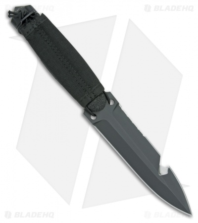 "Extrema Ratio Ultramarine Fixed Blade Knife (5.875"" Black)"