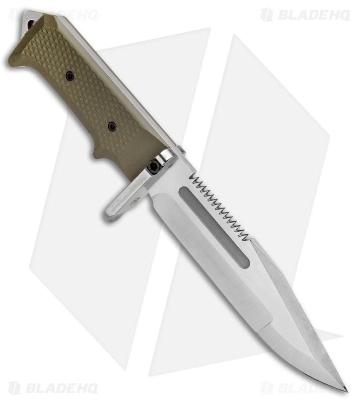 Medford USMC Raider Fixed Blade Knife OD Green G-10 (6 5