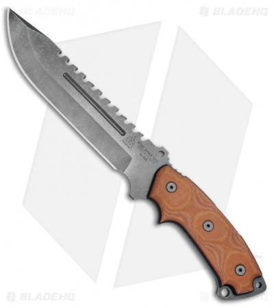 "TOPS Knives Steel Eagle Delta Class Clip Point Knife (7.5"" Acid Rain) 107C-DC"