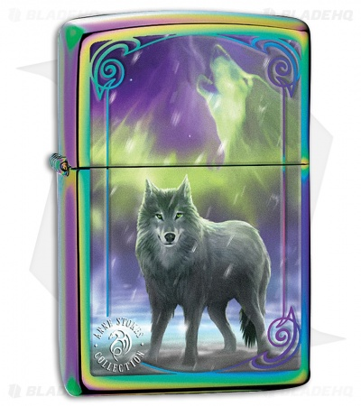 Zippo Lighter Anne Stokes Collection Wolf (Spectrum) 11847