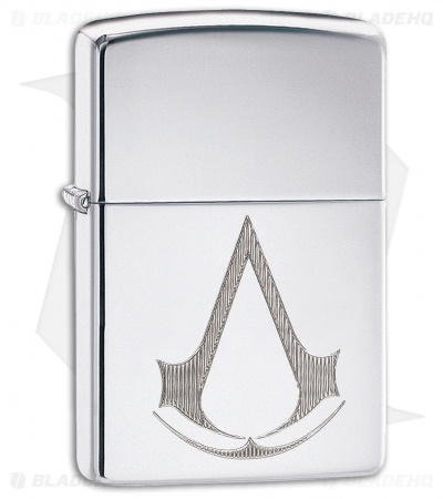 Zippo Lighter Assassin's Creed (High Polished Chrome) 12774