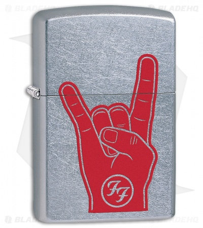 Zippo Lighter Foo Fighters (Street Chrome) 12352