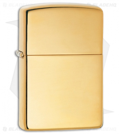 Zippo Lighter Gold Armor (High Polish Brass) 11058