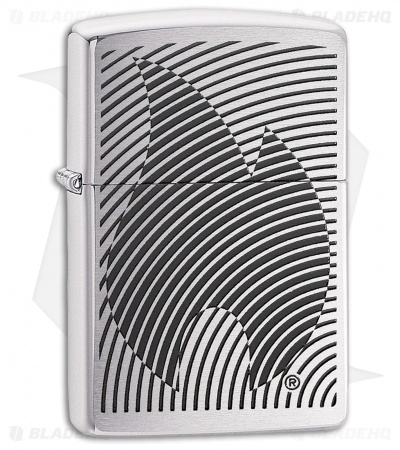 Zippo Lighter Illusion Flame (High Polished Chrome) 12323
