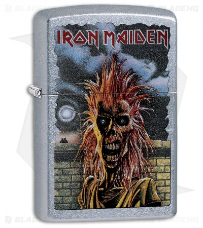 Zippo Lighter Iron Maiden (Street Chrome) 12328