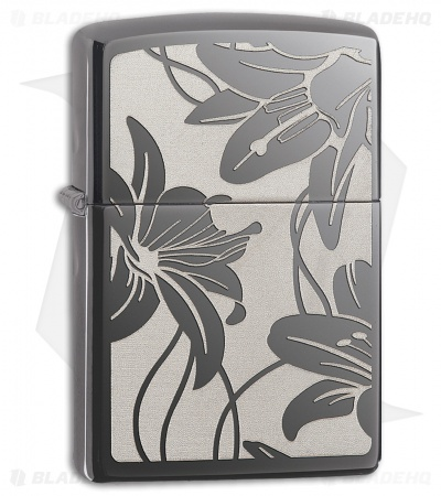 Zippo Lighter Lily (High Polished Chrome) 12320