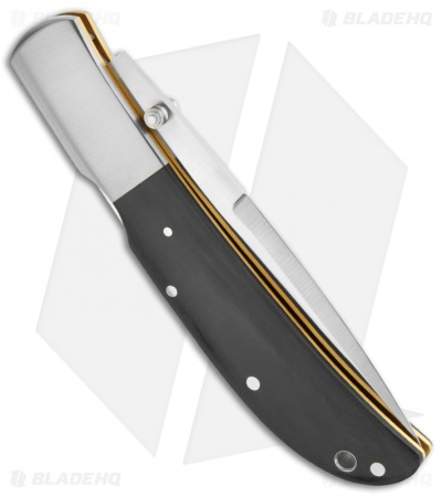 "Al Mar Eagle Classic Talon Lockback Knife Black Micarta (4"" Satin) 1005BMT"