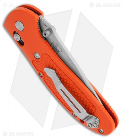 "Benchmade Griptilian AXIS Lock Knife Orange (3.4"" Satin) 551H2O"