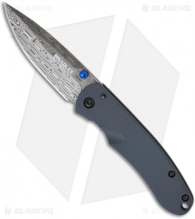 "Limited Bradley Cutlery Alias II Knife (2.95"" Damascus) *Offset Grind*"