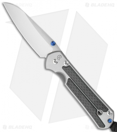 "Chris Reeve Small Sebenza 21 Insingo Knife Carbon Fiber Inlay (2.94"" SW)"