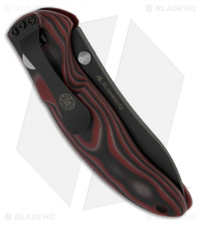 "Hogue Knives EX04 Upswept Knife Red Lava GMascus (3.5"" Plain) 34472"