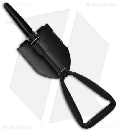 SOG Entrenching Tool Folding Shovel (Black) F08-N
