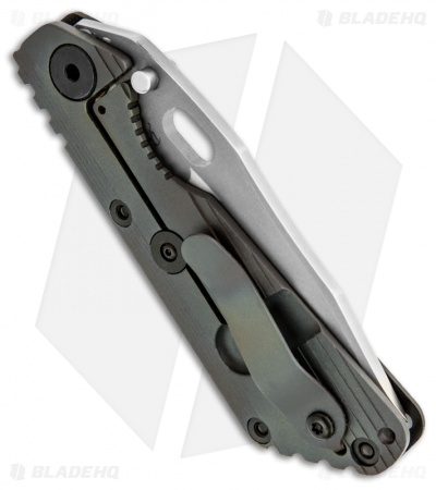 "Strider Knives Duane Dwyer Custom Razor Wire SnG Knife (3.5"" Bead Blast)"