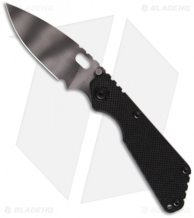 "Strider SnG Black G-10 Manual Folding Knife (3.5"" Tiger Stripe)"