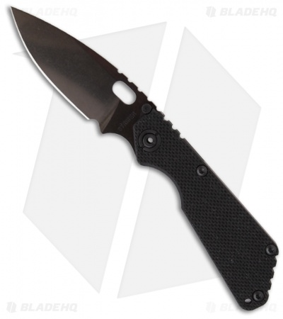 "Strider SnG PVD Black G-10 Folding Knife (3.5"" Black PVD Plain)"
