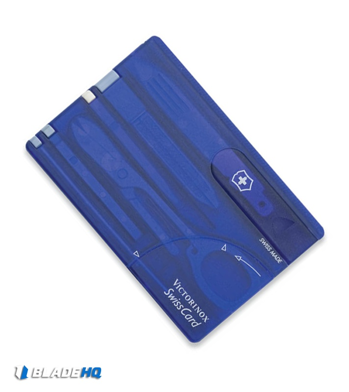 Victorinox Swiss Army Swisscard Classic Sapphire 53928