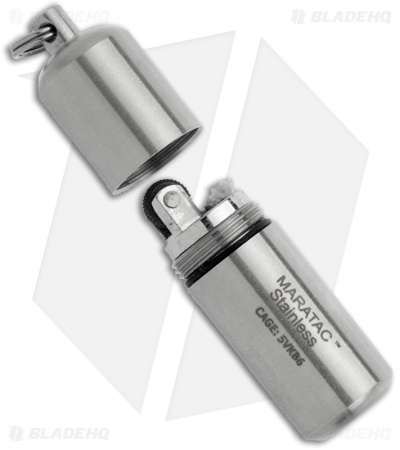 Maratac Stainless Steel Peanut Lighter