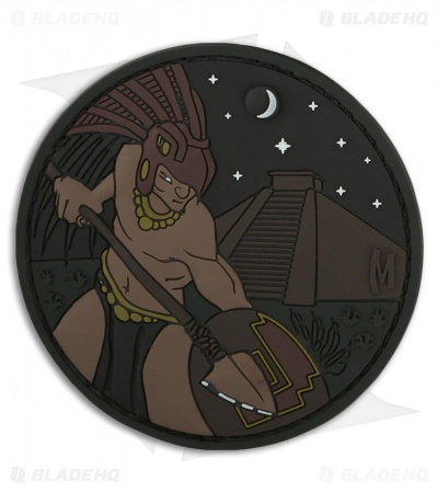 "Maxpedition 3"" Aztec Warrior PVC Patch (Glow)"
