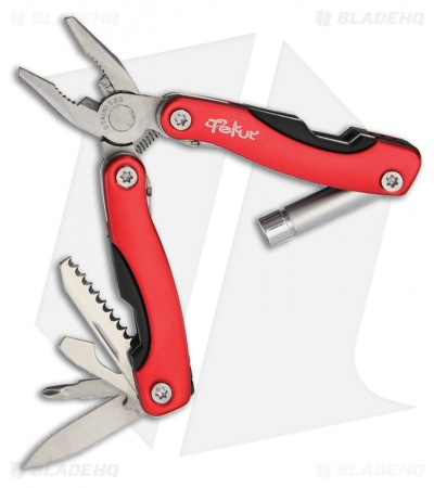 Tekut Folding Multi-Tool Red (8-in-1) KT5004