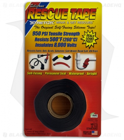Original Self-Fusing Silicone Rescue Tape (Black)