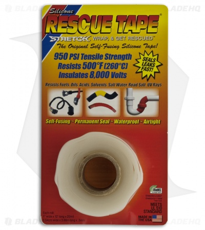 Original Self-Fusing Silicone Rescue Tape (Clear)