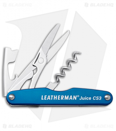 Leatherman Juice CS3 Multi Tool Columbia Blue (4-in-1) 832370