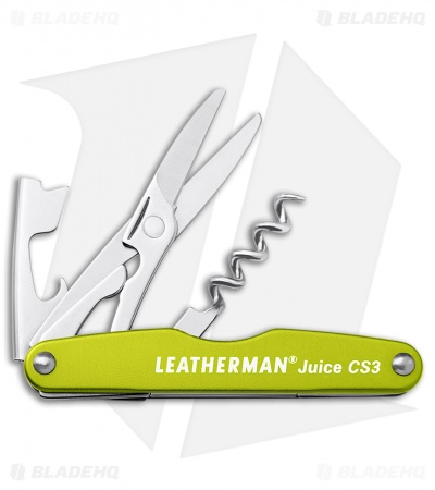 Leatherman Juice CS3 Multi Tool Moss Green (4-in-1) 832371